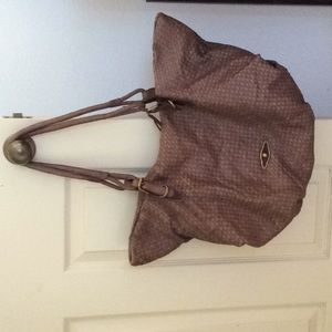 Elliott Lucca Woven Leather Satchel bag (large)